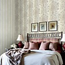 Contemporary Floral Non-Woven Wallpaper