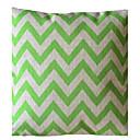 Ever Green vague Stripe coussin décoratif avec Insert