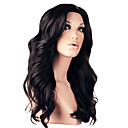 Top Quality 18inch 130% Densitet 100% brasilianska Front Lace Human Hair peruker 4 Color