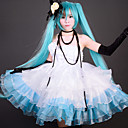 Vocaloid Camellia Hatsune Miku Ice & Mint Cosplay Costume