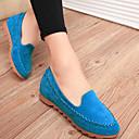 Suede Women's Flat Heel Comfort Loafers Shoes (More Colors)
