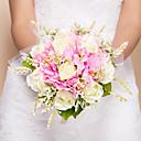 elegant runde formen silke bryllup bukett