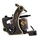 Pure Copper Carving Tattoo Machine Gun