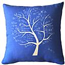 Konstnärlig abstrakt ljus Elegant Tree Dekorativa Kuddfodral