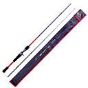 Fish Hunter - 1.83M 2 Sections M Fast Carbon Lure Rod Casting Fishing Rod