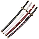 The One Piece' Roronoa Zoro s(4 Swords/Set)(Yubashiri/Sandai Kitetsu/Wado Ichimonji/Shuusui) Cosplay Sword New