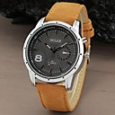 Men's Watch Military Water Resistant Leather Band