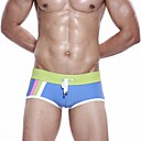 Xibin Men's Stripe Tie Comfortable Stripe Brief Swimwear(Assorted Color,Assorted Size)
