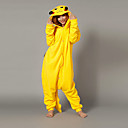 Taika Pikachu Keltainen Polar Fleece kigurumi pyjama Cartoon Yöpuvut Animal Halloween Costume