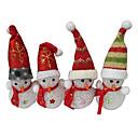 Christmas Snowman EVA Crystal Color-changing Night Light
