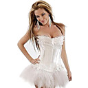 Noble Royal Satin Plastic Boning Bride Corset Shapewear(More Colors) Sexy Lingerie Shaper