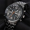 Men's Watch Military Dual Time Zones Water Resistant With Calendar Function