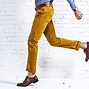 Men's Chinos , Casual/Work/Formal Pure Cotton