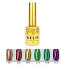 1pcs kelisi gel de color ultravioleta de metal profesional no.7-12 (12 ml, color clasificado)