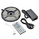 водонепроницаемый 5м 36W 150x5050 SMD RGB света Светодиодная лента комплекты (12 В постоянного тока)