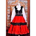Black & Red Cosplay Costume Inspired by Hetalia Hungary Elizaveta National Dress
