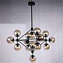 Pendant Light 15 Lights Country Style Wrought Iron
