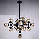 besi lampu gantung 15 lampu gaya country tempa