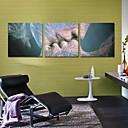 Canvas Set of 3 Modern Romance Kiss People Stretched Canvas Print Ready to Hang