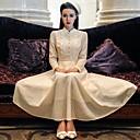 incern®women s spets vintage elegant slimmad klänning