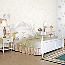 Wall Paper Wallcovering, Classical Floral Non-Woven WallPaper