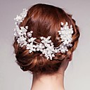 Women's Crystal/Alloy/Imitation Pearl Headpiece - Wedding/Special Occasion/Outdoor Flowers