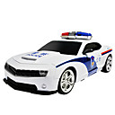 aiqinqin qq4yc2k rc auton ylimitoitettu ohjauspyörän kaukosäädin sähköinen poliisi leluautoon valo ääni