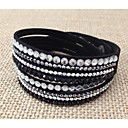 Unisex Chain/Fashion Bracelet Resin Rhinestone