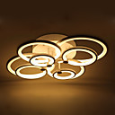 Decorative Modern Acrylic Flush Mount LED Ceiling Lamp White Color