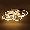 Decorative Modern Acrylic Flush Mount LED Ceiling Lamp White Color