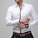 Men's Business Casual Long Sleeved Shirt