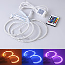 Car Accessories Color Changing RGB Angel Eyes Kits for E36 E38 E39 E46 Projector
