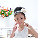 Flower Girl Satin Flowers With Wedding/Party Headpiece(One Flower)