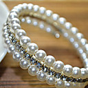 Lucky Woman Vintage Shining Front Opening Bracelets
