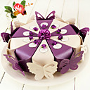 Pearlescent Paper Cake Candy Box (Set Of 10)(More Colours)