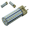 1 stuks TESO G12 LED quantity: 56pcs 2835SMD SMD 2835 810 ± 10% LM Warm wit / Koel wit / Natuurlijk wit T Decoratief LED-maïslampenAC