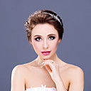 Women's/Flower Girl's Rhinestone/Alloy Headpiece - Wedding/Special Occasion Tiaras/Headbands 1 Piece