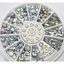 Bijoux pour ongles/Paillettes - Doigt/Orteil - en Mariage - 8*8*1