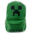 Minecraft–Pocket Edition Oxford Black Cosplay Backpack Bag