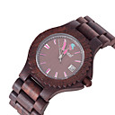 Fashion Seasonal New Design Wooden Watches High Quality Sandalwood Quartz Wristwatch for Men