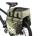 Bicycle Cycling Bike 3 in 1 Waterproof Pannier Bag Rear Pack Shoulder Bag