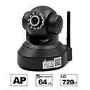 besteye® hd1280 * 720p H.264 wifi IP-kamera 1,0 PTZ ir mörkerseende trådbundna / wirless 64gb tf kort