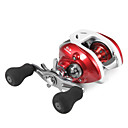 Super Casting Low Profile 12+1 BB Baitcasting Fishing Reel (Red)