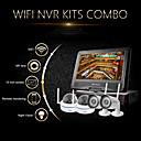 Szsinocam®4CH 720P 1.0MP WIFI NVR Kits,With 10.1