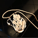 Han Edition Swan Long Women Sweater Necklace