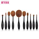 10 Brush Lavastus Synteettinen tukka Ammattilaisten / Täysi kattavuus Plastic Kasvot / Silmä / Huuli MAKE-UP FOR YOU