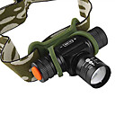 1200 Lumens XM-L T6 White Camouflage Bag Camping Headlamps (1X14500)
