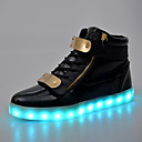 Men's Shoes Outdoor / Party & Evening / Casual Leather Fashion Sneakers Black / White