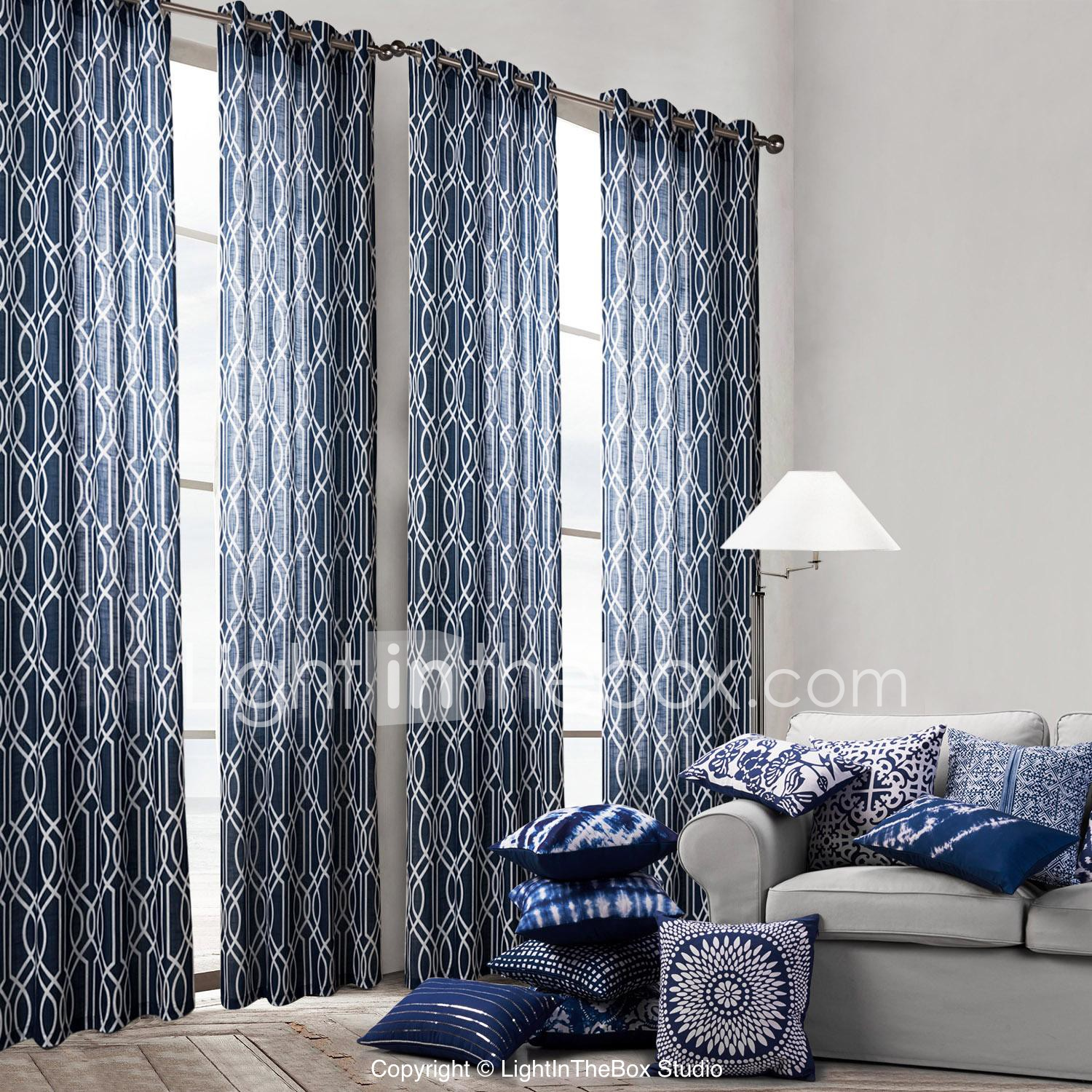 Curtains for bedroom 2016 - One Panel Curtain Modern Bedroom Polyester Material Curtains Drapes Home Decoration For Window 2654391 2017 27 89