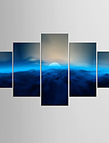 Photographic Print Landscape Modern Classic,Five Panels Canvas Any Shape  Print Wall Decor For Home